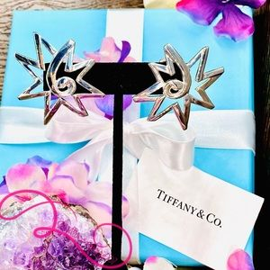 NWOT Tiffany & Co Paloma Picasso Star Sun Earrings